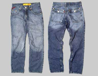 These are first class jeans that can be exported for about 14/15 ...