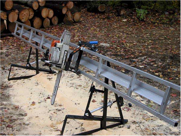 how to make a canadian saw mill