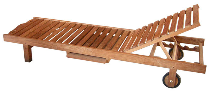 Indonesia teak garden relax chairs and loungers