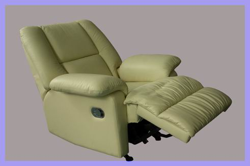reclining leather armchairs