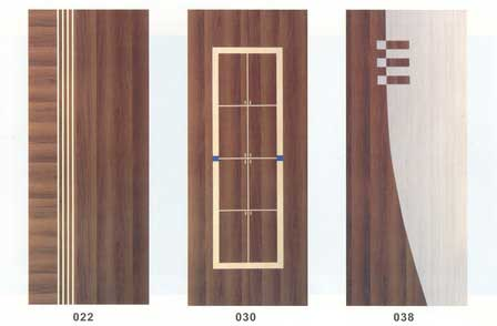 China non painting plywood doors for Plywood door design