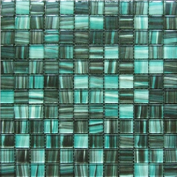 Hand Painting Glass Mosaic Tile