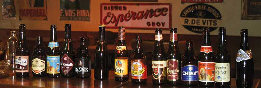 Belgium natural special beers and Trappist abbeys beers for worlwide export