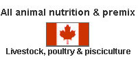Animal nutrition and premis for poultry and livestock