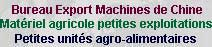 Bureau export de machines agricoles de Chine