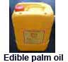 Asia edible yellow palm oil